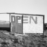 Open, us 89 north, Nouveau Mexique, avril 2013
